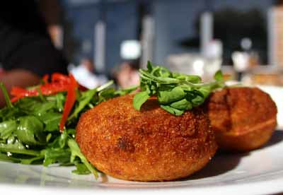 Salt Cod Fish Cakes, Milk and Two, Pyrmont