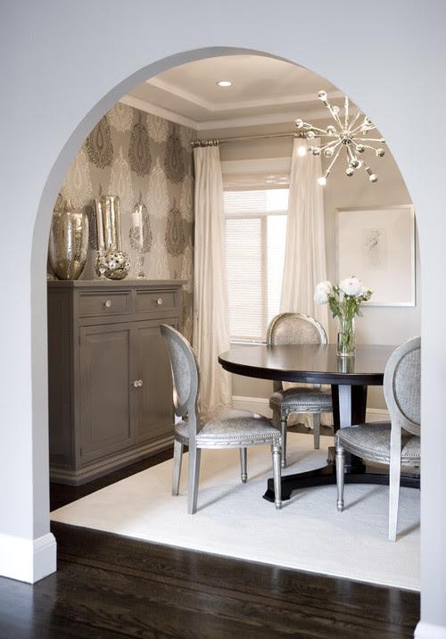 Amoroso Design contemporary dining room