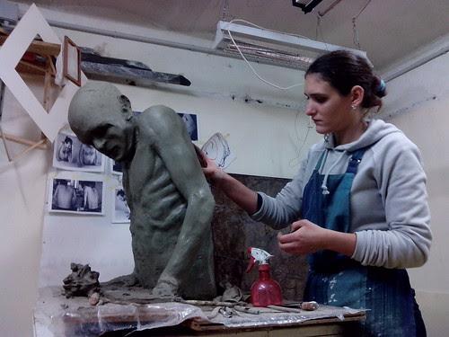 Marta Fumagalli, modellando by Ylbert Durishti