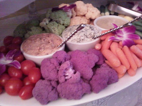 Purple cauliflower!