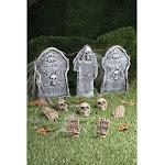 12pc Cemetery Kit - 67835 - Gray