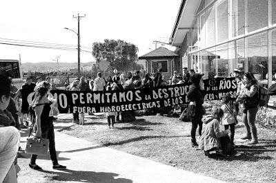 Marcha Puelo en Valdivia