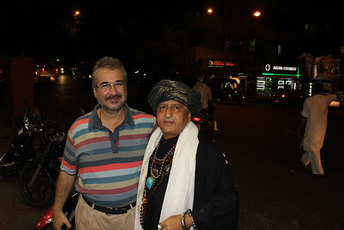 Dam Madar Malang And Dr Mansoor Showghi Yezdi at Good Luck Restaurant Bandra by firoze shakir photographerno1