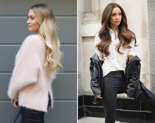The Secret Behind Sarah Ashcroft And Danielle Peazer's Hot Hair - Look Magazine