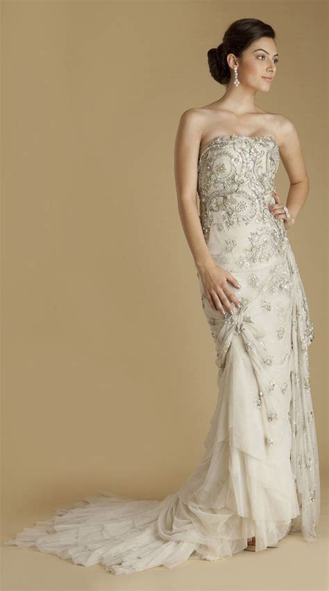 A mix between a Indian and American wedding dress! Could