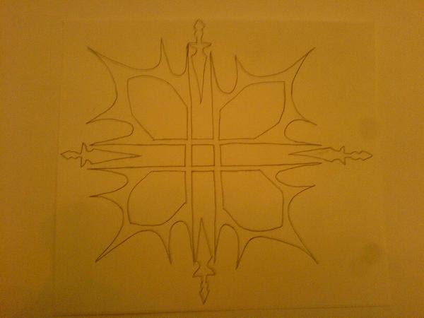 Line Art Zero : Downcutopep tattoo line art