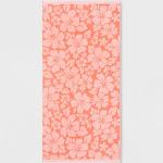 XL Hibiscus Beach Towel Coral - Sun Squad , Pink