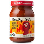 Mrs. Renfro's Ghost Pepper Salsa , 16 oz , TexasFood.com