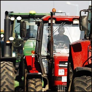 Протест фермеров в Краснодарском Крае