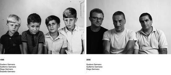 1969. Gustavo Germano, Guillermo Germano, Diego Germano, Eduardo Germano.       2006. Gustavo Germano, Guillermo Germano, Diego Germano.