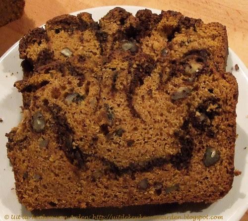 Chocolade-pompoencake