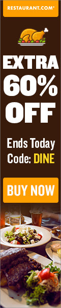 Restaurant.com Weekly Promo Offer 120 X 600