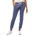 Alternative Long Weekend Printed Burnout French Terry Pants