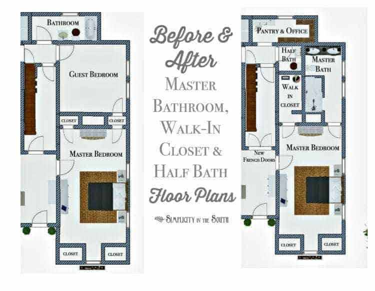 So Long Spare Bedroomhello Master Bathroom Walk In Closet And