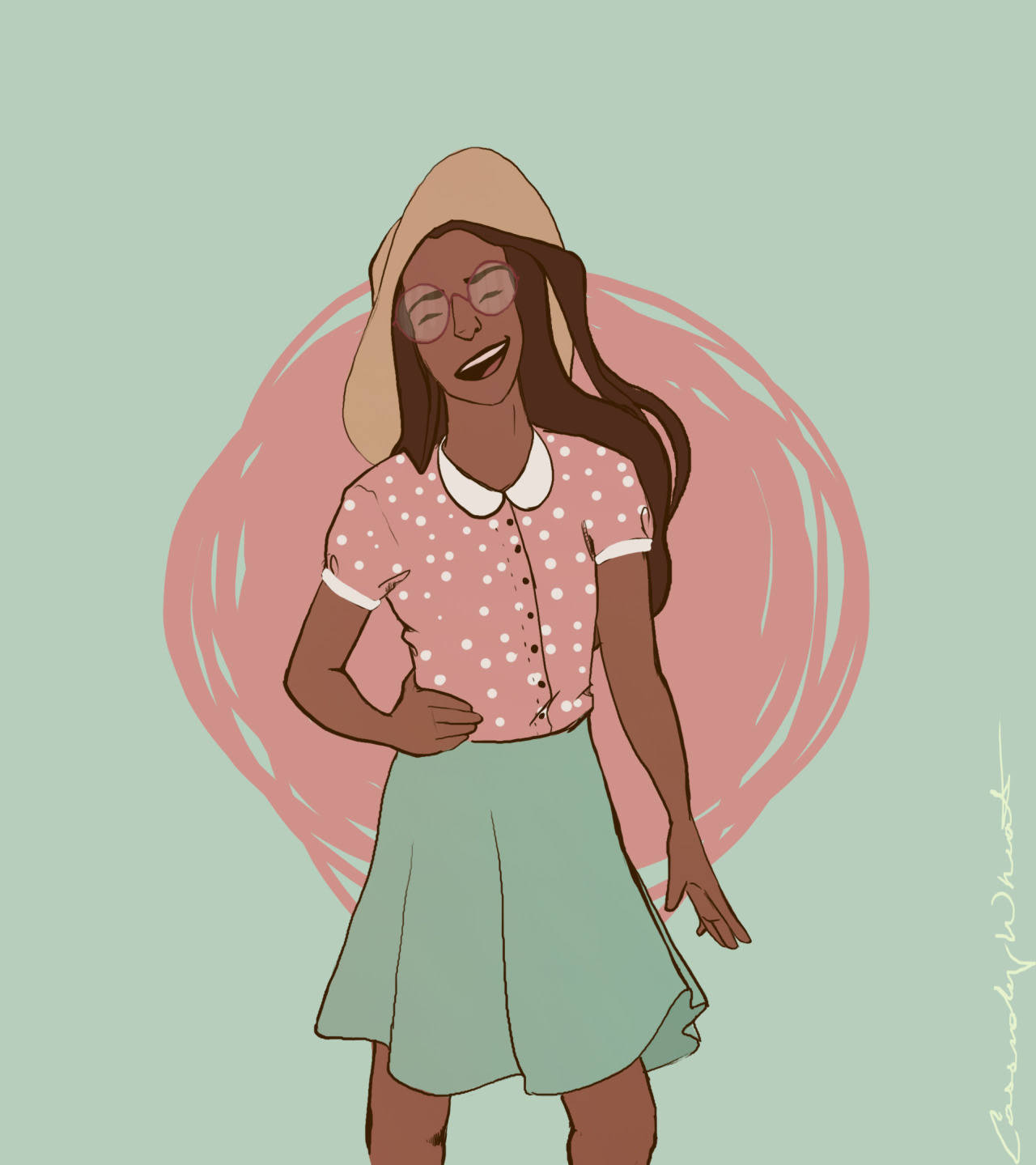 I've been trying to draw Connie for a while now because I think she's adorable and wonderful and I could go on- BUT I recently realized that I have the bad habit of making every character look the...