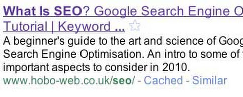 SEO Page Title Tag Best Practice for Google in 2014
