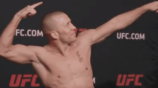Dana White Doesn't Think GSP Can Make 155 Pounds • MMA News