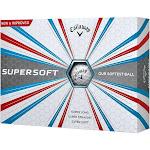 Callaway 2017 Supersoft Golf Balls (One Dozen) White