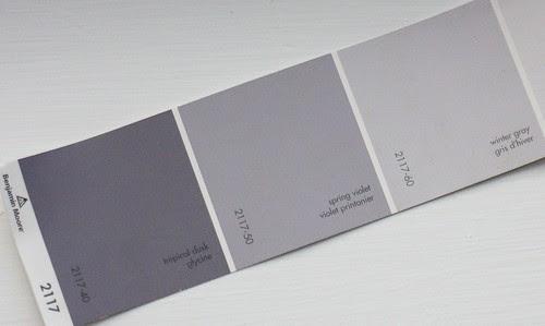 paint - winter gray