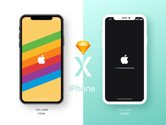 iPhone X Mockup Sketch freebie - Download free resource for Sketch - Sketch App Sources