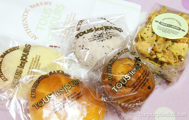 Breads from Tous Les Jours SM North Edsa The Block