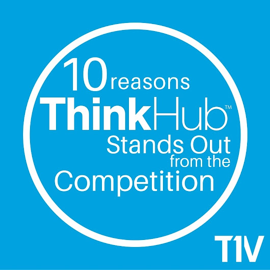 10 reasons ThinkHub collaboration software stands out from the competition