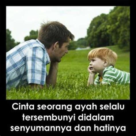 gambar kata kasih sayang  ayah  anaknya