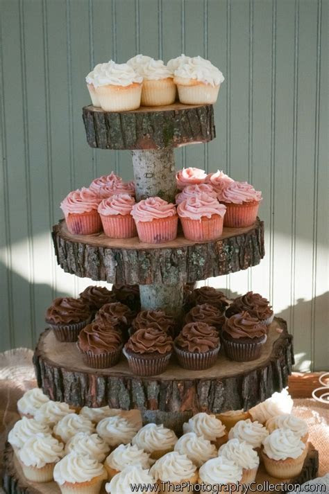 Best 25  Wooden cupcake stands ideas on Pinterest   Rustic