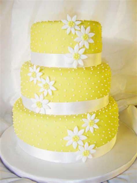 Wedding By Designs: Yellow Wedding Cakes Design