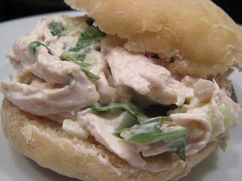 Chicken & Fennel Salad Sandwich