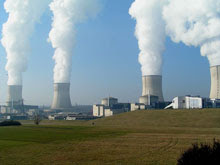 Una centrale nucleare francese