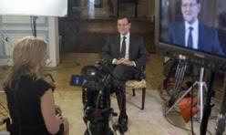 Sara Eisen entrevista a Rajoy
