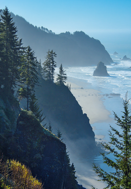 Sea Cliffs, Boardman State Park, Oregon photo via real