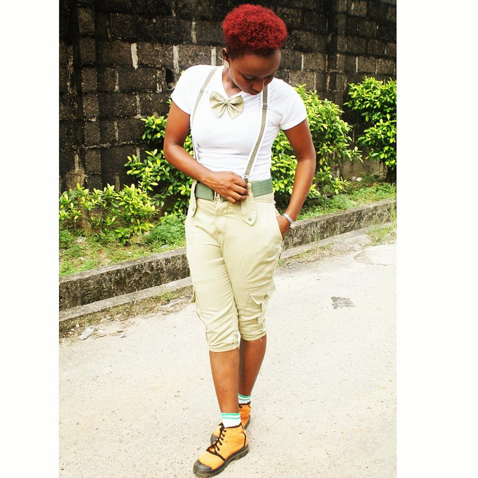 Slay Corper! See how NYSC Member Transformed her Uniform into a Corporate Outfit