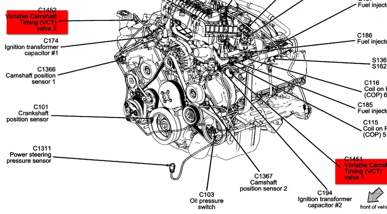 98 Ford F 150 5 4 Engine Diagram
