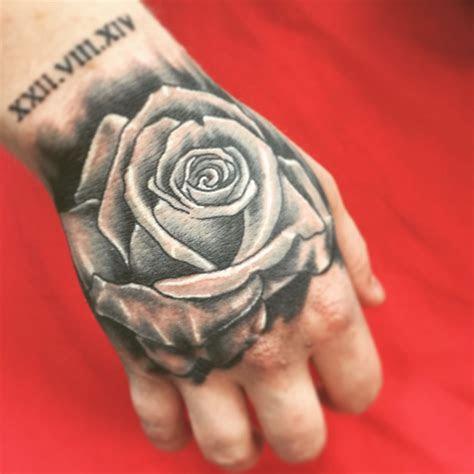 rose hand tattoo rose hand tattoo hand tattoos hand