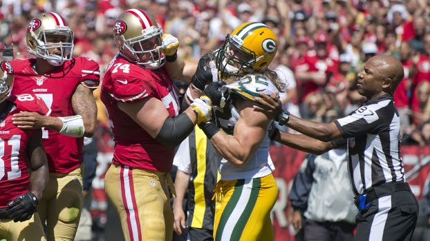 Green Bay Packers enfrenta o San Francisco 49ers nos playoffs da NFL neste domingo