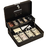 Honeywell 6213 Steel Tiered Cash Box with Key Lock