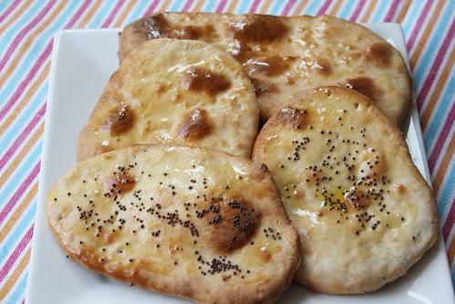 Cocinando entre olivos pan naan paso a paso for Cocinando entre olivos