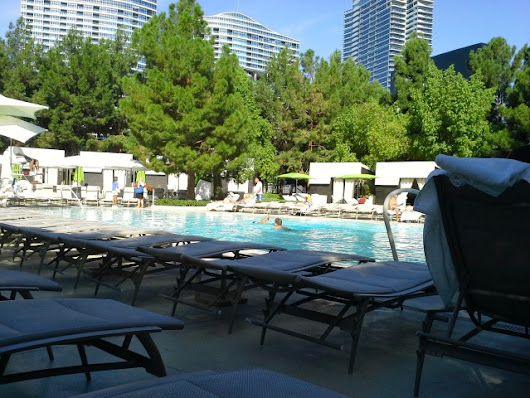 Happiness is a Leisurely Morning by the Pool - The Vegas Solo