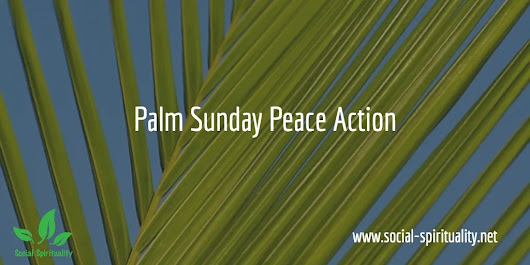 Palm Sunday Peace March