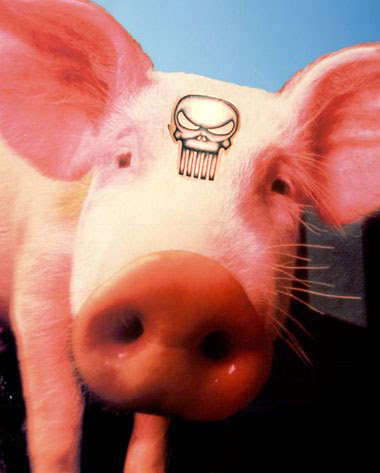 Punisher's Battle-Pig