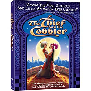 """Cover of """"The Thief And The Cobbler"""""""