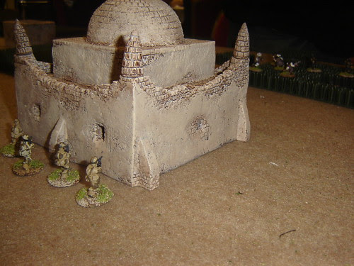 Advancing to the tomb