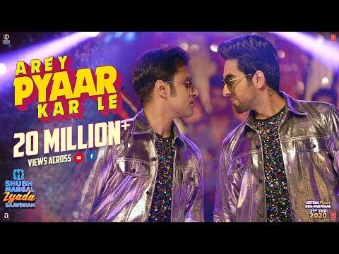 Arey Pyaar Kar Le lyrics   Ayushmann K  Bappi Lahiri