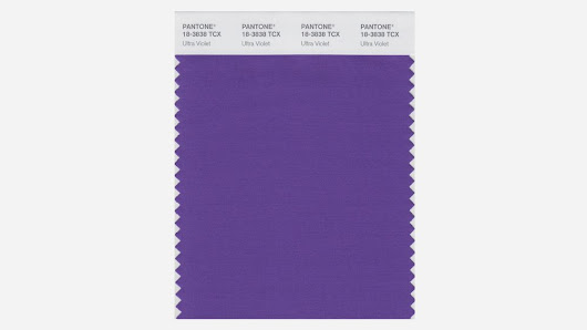 Ultra Violet - Pantone's 2018 colour of the year... what do you think?
