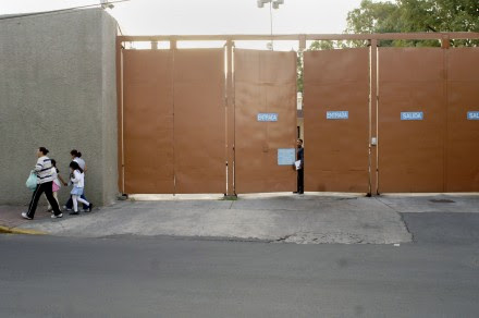 Instalaciones del Centro de Investigación y Seguridad Nacional (Cisen). Foto: Gustavo Graf