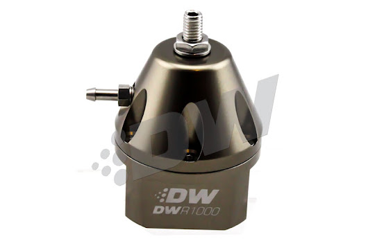 Deatschwerks DW Adjustable Fuel Pressure Regulator Titanium