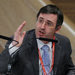 Sergei Guriev, rector of the New Economic School speaking during The Russia Forum 2012.