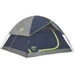 Coleman Sundome 4-Person Dome Tent, Navy/Gray